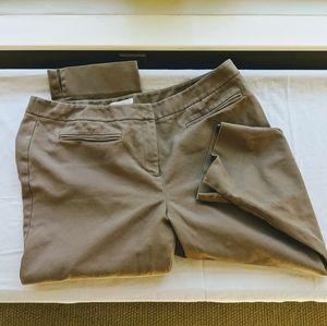 Chico's crop khaki pants size (3) 16
